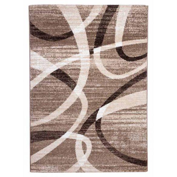 Madrid D731A_FMA76 bézs modern kör mintás szőnyeg  60x110 cm