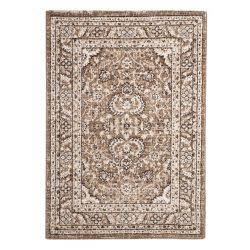 Ottoman D740A_FMA77 bézs klasszikus mintás szőnyeg  80x150 cm