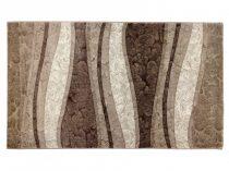 Deniz 112 Vizon/ barna vonalas szőnyeg  80x150 cm
