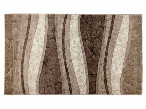 Deniz 112 Vizon/ barna vonalas szőnyeg 200x290 cm