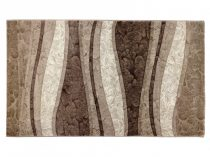 Deniz 112 Vizon/ barna vonalas szőnyeg 150x230 cm