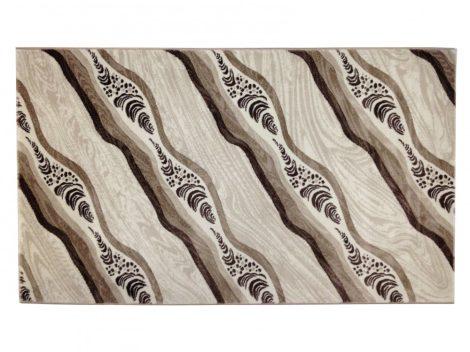 Deniz 114 Vizon / barna hullámos szőnyeg  80x150 cm - A KÉSZLET EREJÉIG!