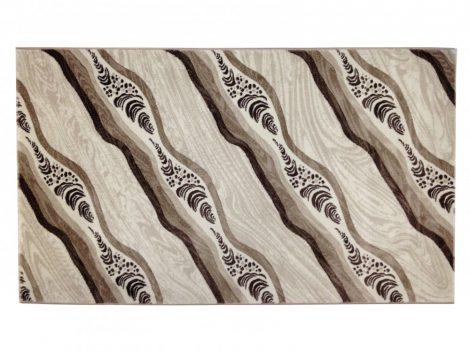 Deniz 114 Vizon / barna hullámos szőnyeg 200x290 cm