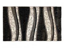 Deniz 119 Gri/ szürke vonalas szőnyeg 120x200 cm