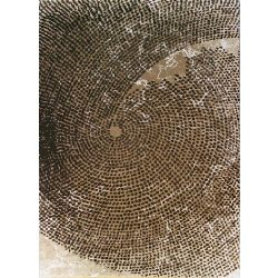 Dizayn 2218 bézs szőnyeg  80x150 cm