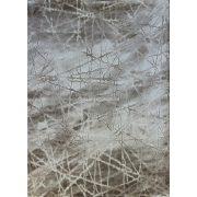 Dizayn 2371 bézs vonalkás mintás szőnyeg 120x180 cm