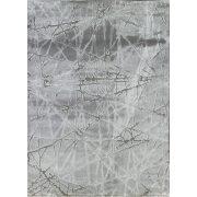 Dizayn 2371 szürke vonalkás mintás szőnyeg 200x290 cm