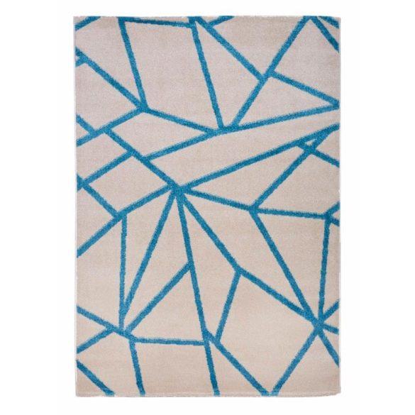 Barcelona E738_FMA61 bézs geometriai mintás szőnyeg  80x150 cm