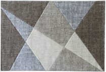 Efes 7479 bézs modern mintás szőnyeg 160x230 cm