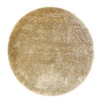 Shaggy Eleysa cream szőnyeg 160 cm kerek