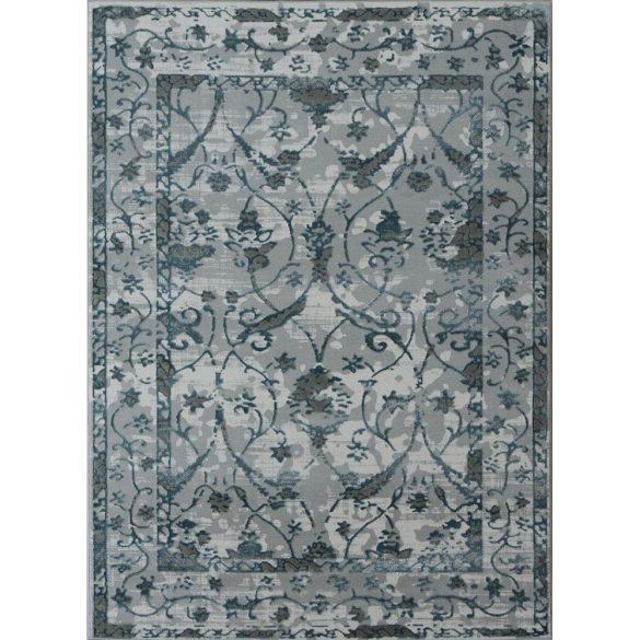 Elite 1160 kék-szürke klasszikus mintás szőnyeg 120x180 cm