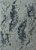 Elite 1165 navy folt mintás szőnyeg 160x220 cm