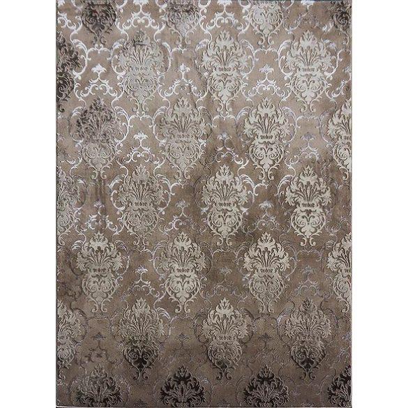 Elite 23282 bézs damaszt mintás szőnyeg 160x220 cm