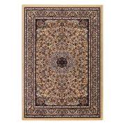 Excellent 802 bézs közép mintás indás szőnyeg 160x230 cm