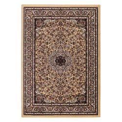 Excellent 802 bézs közép mintás indás szőnyeg  40x60 cm