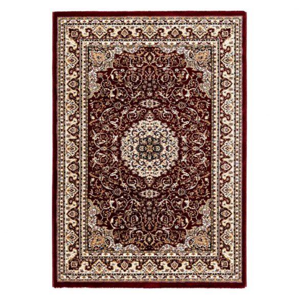 Excellent 802 bordó közép mintás indás szőnyeg  40x60 cm