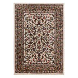 Excellent 804 krém levél mintás szőnyeg  80x300 cm