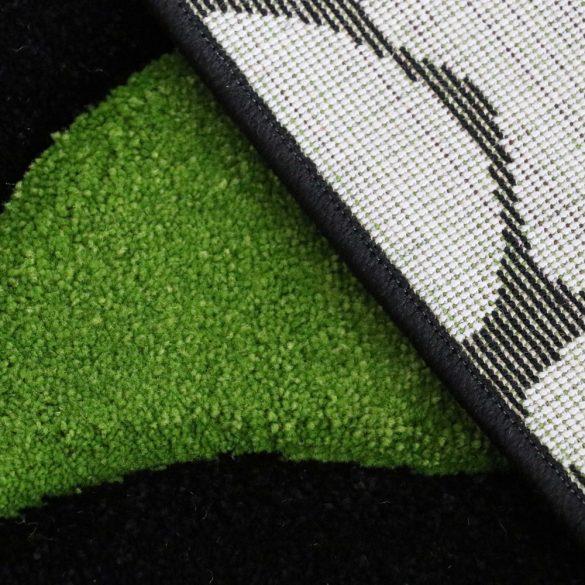 Florida 906 zöld levélmintás szőnyeg 120x170 cm