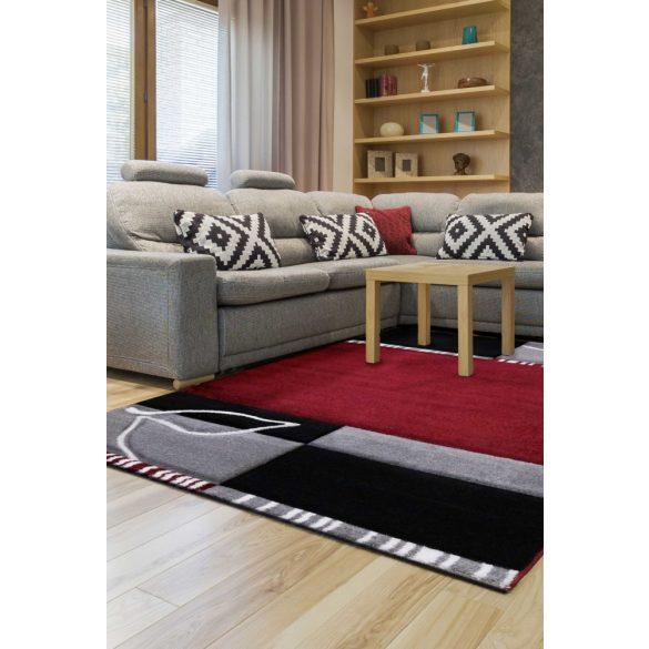 Florida 912 Bordó-szürke szőnyeg 200x290 cm