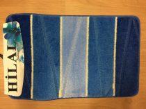 Fürdőszobaszőnyeg kék 2 db-os 50x80