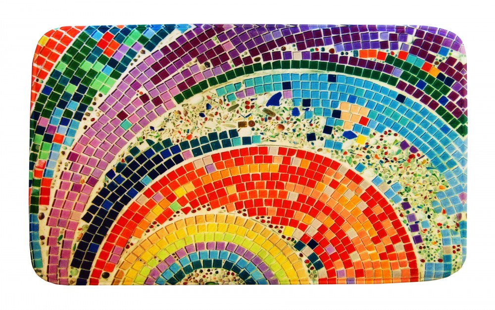 Fürdőszobaszőnyeg Mozaikos 2 db-os 55x90 - 55x45 - Szőnyeg Webáruház
