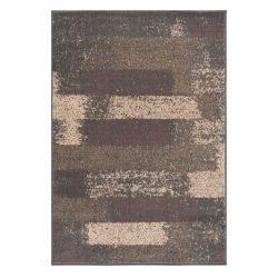 Gustavo 3197 barna modern mintás szőnyeg  80x150 cm