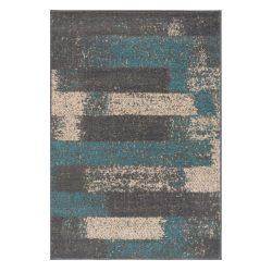 Gustavo 3197 türkíz modern mintás szőnyeg 160x230 cm
