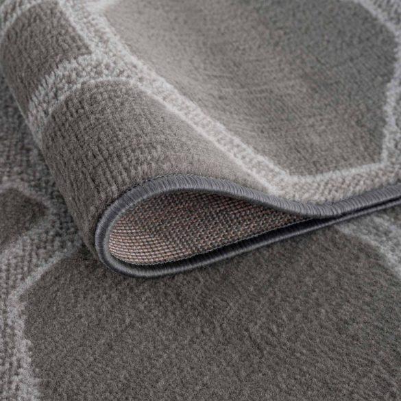 Gustavo 3220 szürke modern mintás szőnyeg  80x150 cm