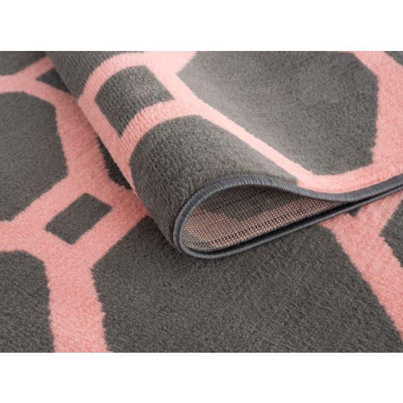 Gustavo 3220 pink modern mintás szőnyeg 200x290 cm