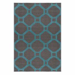Gustavo 3220 türkíz modern mintás szőnyeg 120x170 cm
