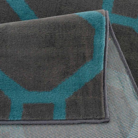 Gustavo 3220 türkíz modern mintás szőnyeg 160x230 cm