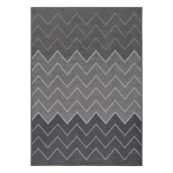 Gustavo 3221 szürke modern cikk-cakk mintás szőnyeg 160x230 cm