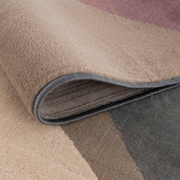 Gustavo 3224 barna geometriai mintás szőnyeg 120x170 cm