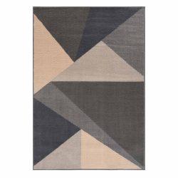 Gustavo 3224 szürke geometriai mintás szőnyeg 160x230 cm