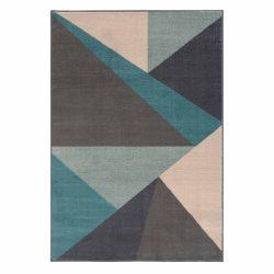 Gustavo 3224 türkíz geometriai mintás szőnyeg 120x170 cm