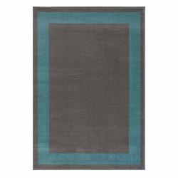 Gustavo 3231 türkíz modern mintás szőnyeg  80x150 cm