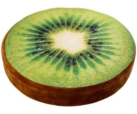 Kerek Kiwi gyümölcspárna
