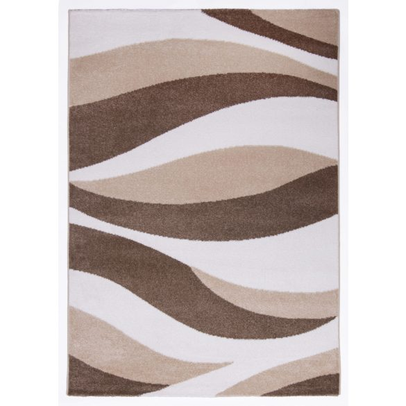 Madrid H701A_FMA37 krém modern hullám mintás szőnyeg  80x150 cm