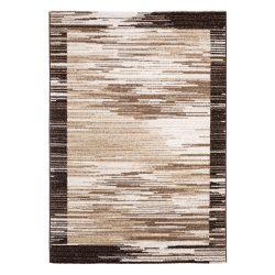 Madrid H703A_FMA67 barna modern mintás szőnyeg  80x150 cm