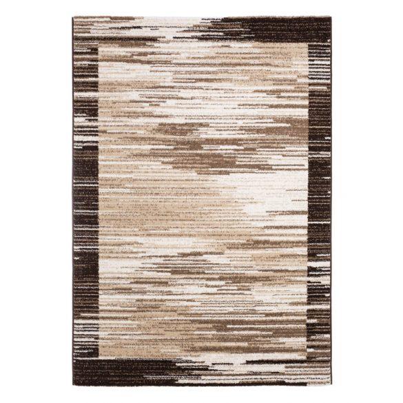 Madrid H703A_FMA67 barna modern mintás szőnyeg 120x170 cm
