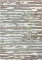 Harmony 3098 világos bézs csíkos mintás szőnyeg 120x170 cm
