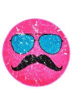 Hipster kerek pink szőnyeg  80x80 cm
