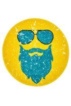Hipster kerek ginger szőnyeg  80x80 cm