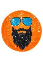 Hipster kerek orange szőnyeg  80x80 cm