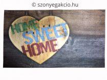 Lábtörlő Home sweet home 39x69 cm