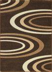 Jakamoz 1061 barna félkörös szőnyeg 200x290 cm