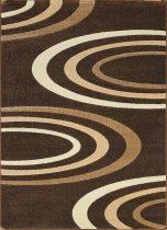 Jakamoz 1061 barna félkörös szőnyeg 160x220 cm