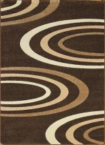 Jakamoz 1061 barna félkörös szőnyeg 240x330 cm