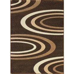 Jakamoz 1061 barna félkörös szőnyeg 120x180 cm