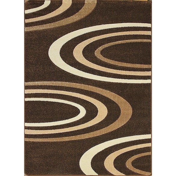 Jakamoz 1061 barna félkörös szőnyeg 280x370 cm